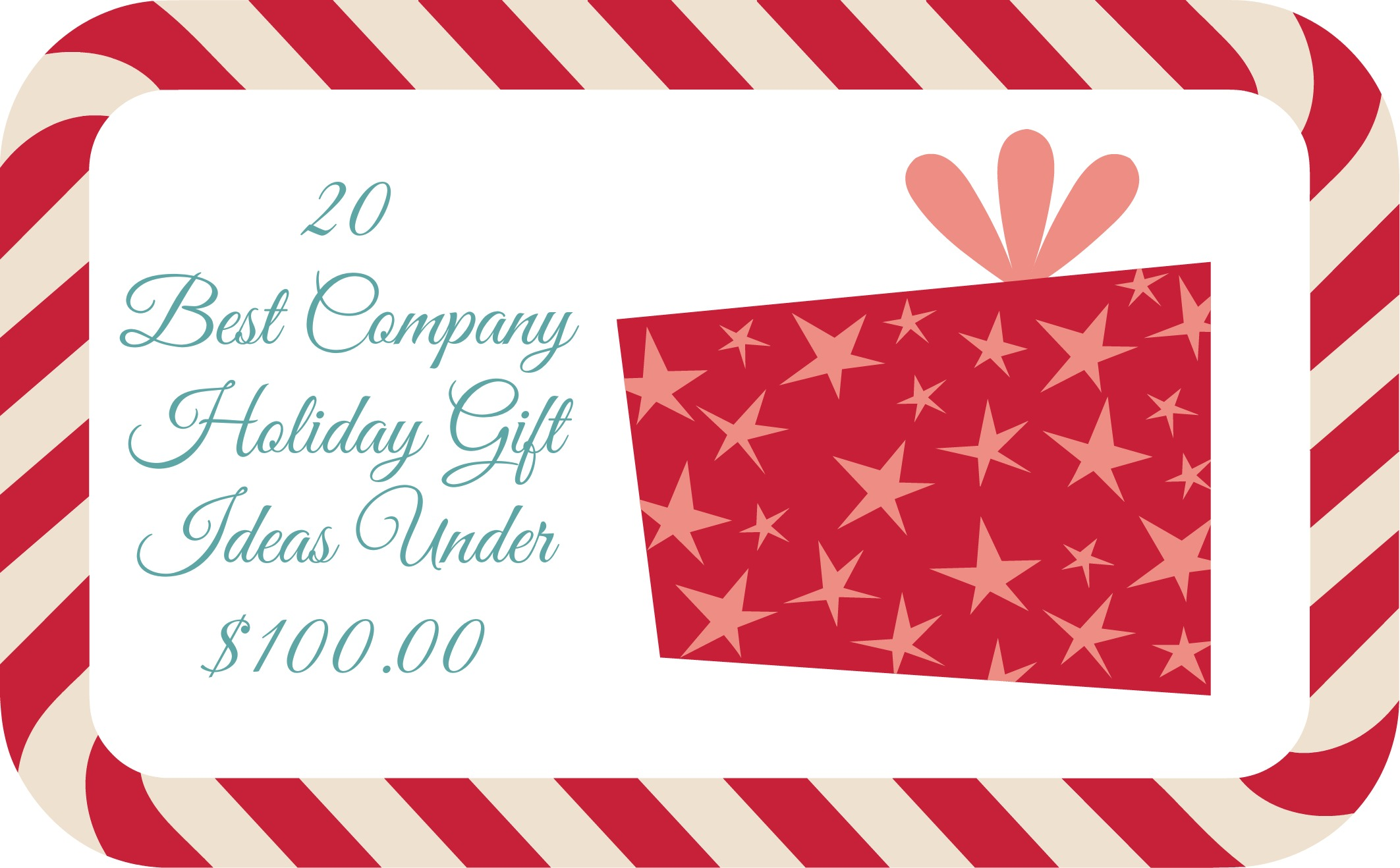 20 best company holiday gift ideas under for Corporate christmas party gift ideas