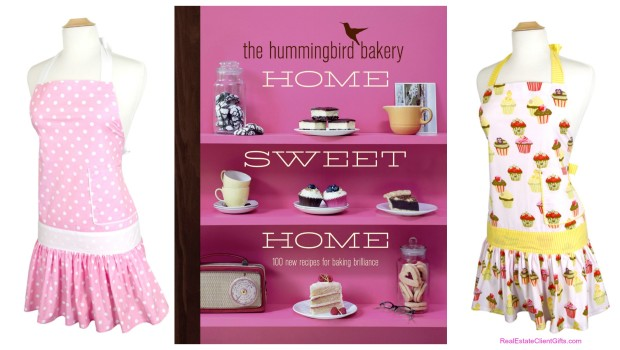 Company Holiday Gifts for Women, Aprons and Cookbooks