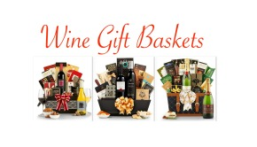 Company Holiday Wine Gift Baskets