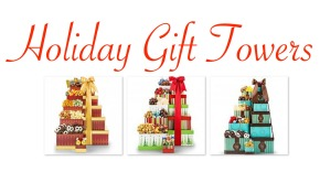 Company Holiday Gift Towers