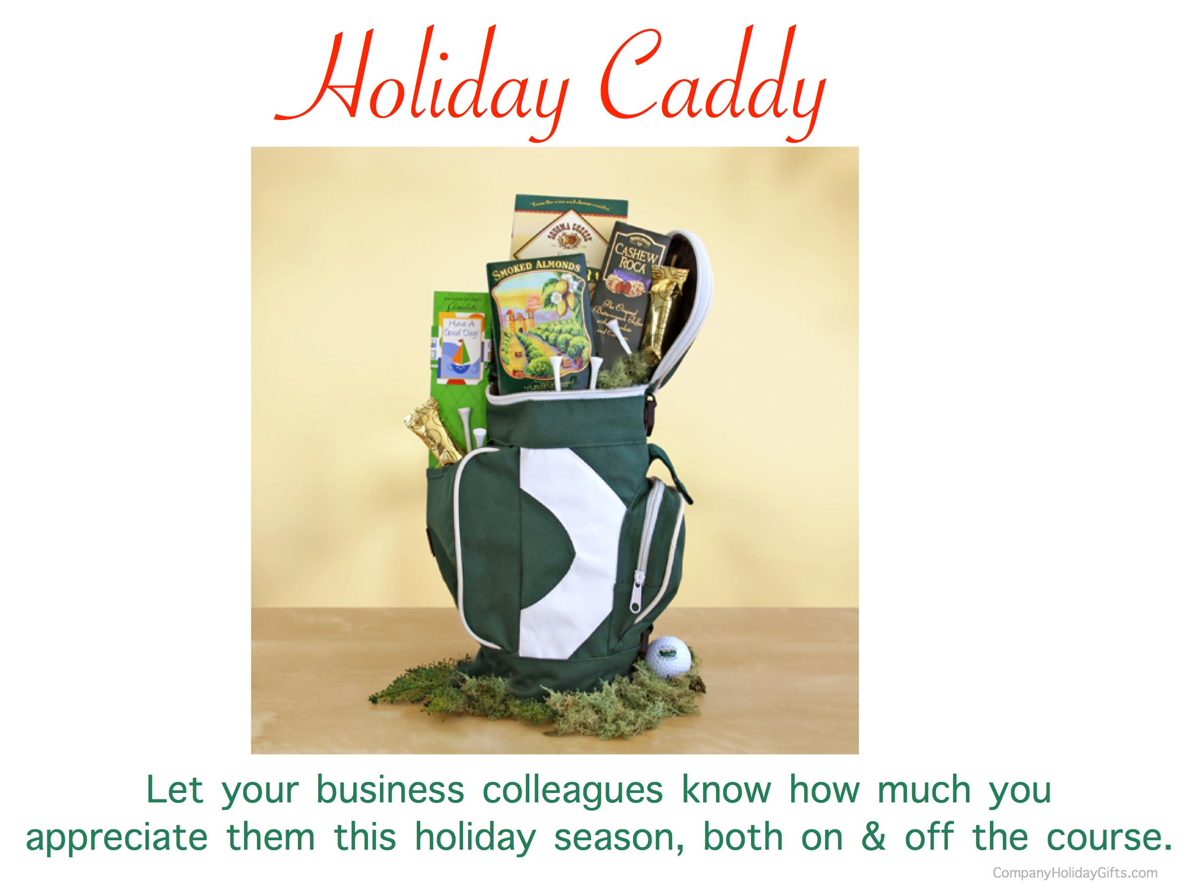 Holiday Caddy, 20 Best Company Holiday Gift Ideas Under $100.00