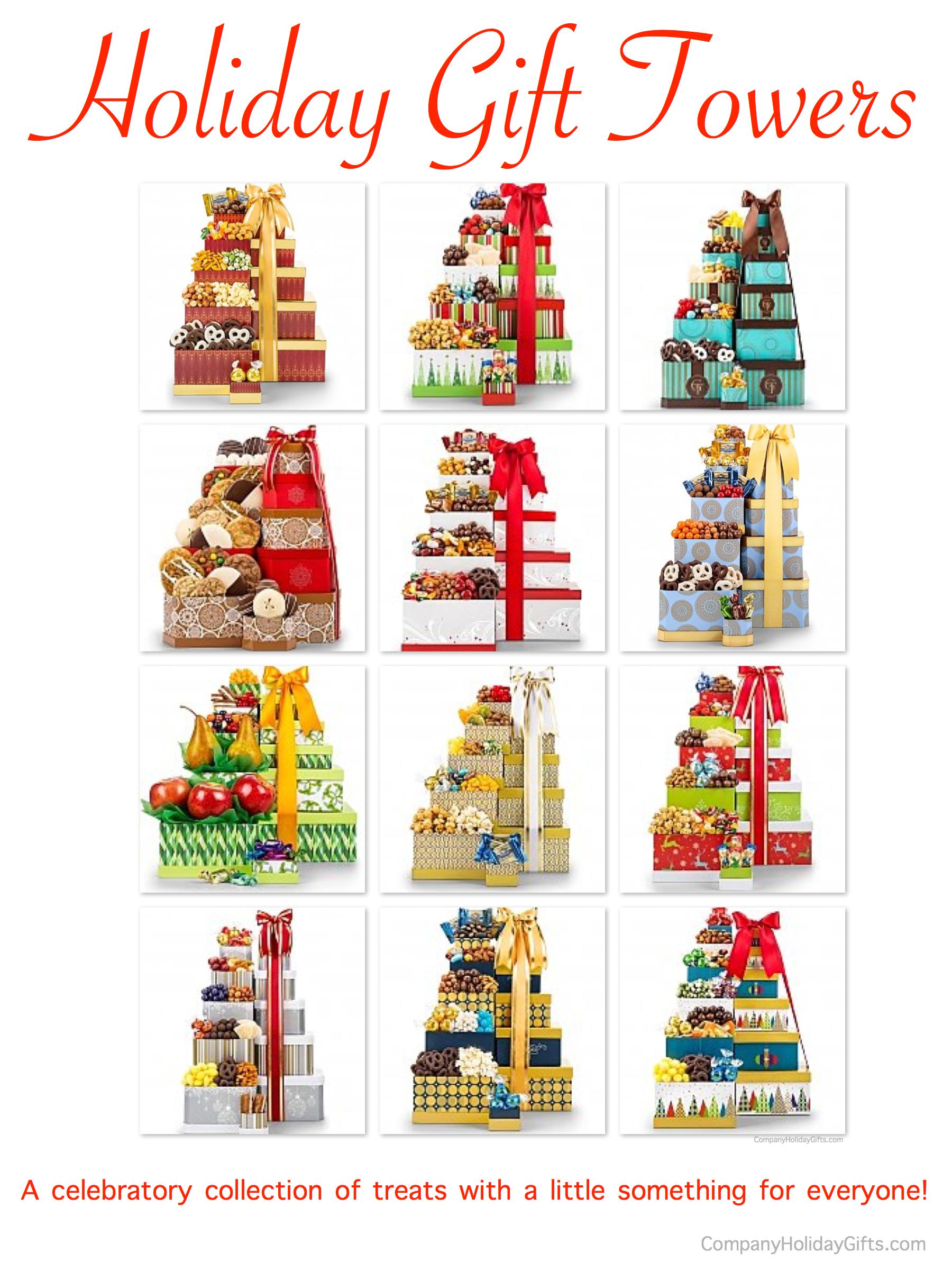 Holiday Gift Towers, 20 Best Company Holiday Gift Ideas Under $100.00