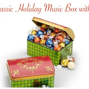 Lindt Classic Holiday Music Box & Truffles Business Gifts