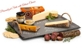 Personalized Slate with Artisan Cheeses