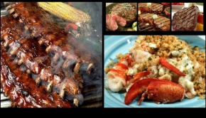 Ribs Steak and Lobster Business Holiday Gifts
