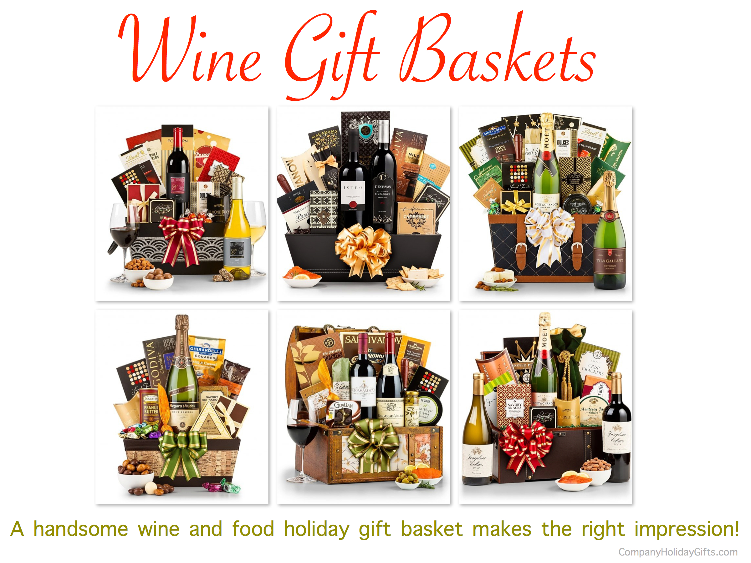 Wine & Food Holiday Gift Baskets, 20 Best Company Holiday Gift Ideas Under $100.00