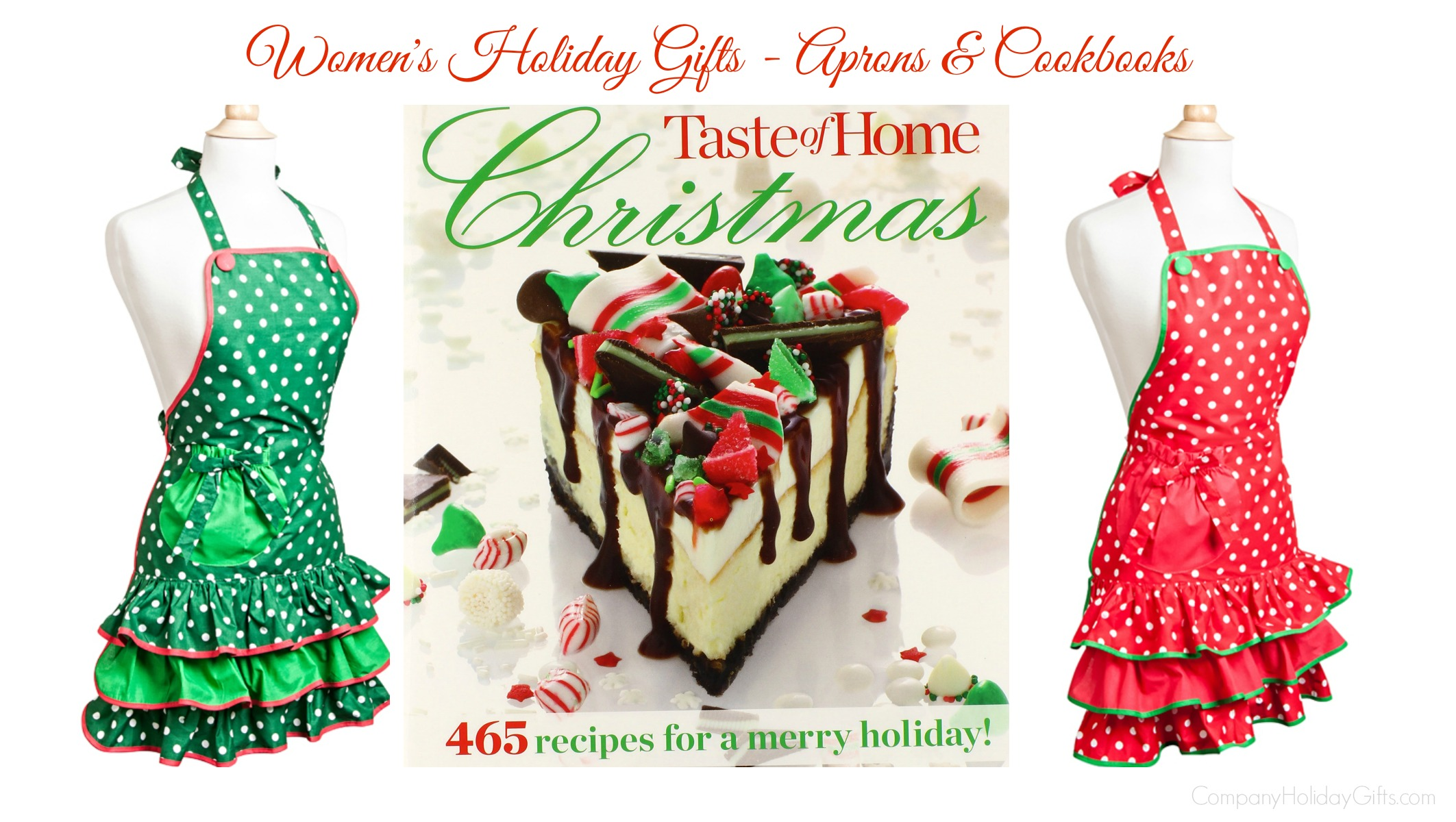 Womens Holiday Gifts Aprons And Cookbooks Company