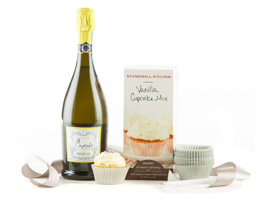 Cupcakes-Sparkling-Wine-Gift-Set
