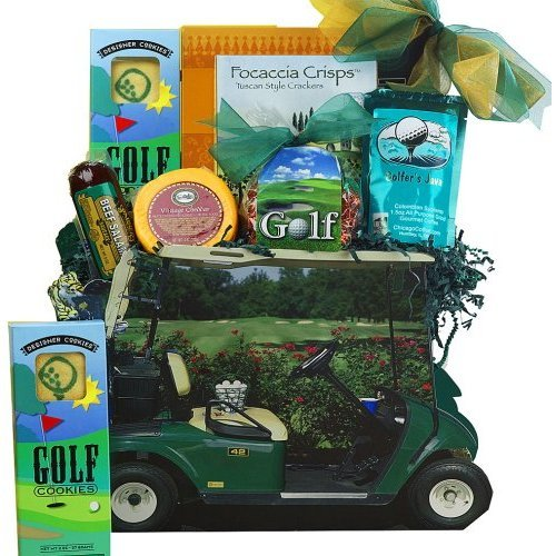 Art of Appreciation Gift Baskets Gone Golfing Golf Cart Gift Bag Tote, golf gifts