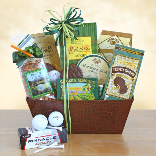 Deluxe Golfer's Gourmet Dream Gift Basket, Golf Gifts