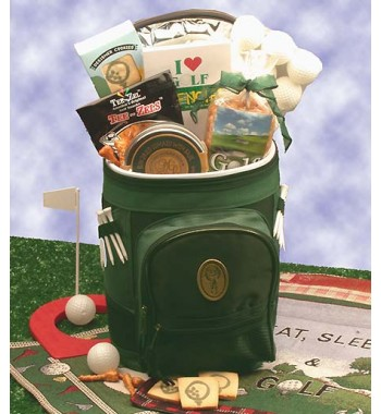 Golfer's Delight Gift Basket, Golf gifts
