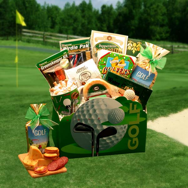 Golfer's Dream Gift Basket, Golf Gifts