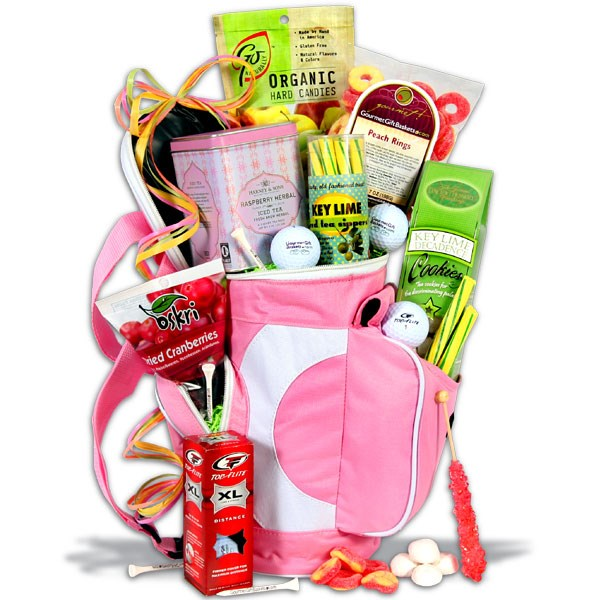 Ladies Tee Time Golf Gift Basket, Golf Gifts