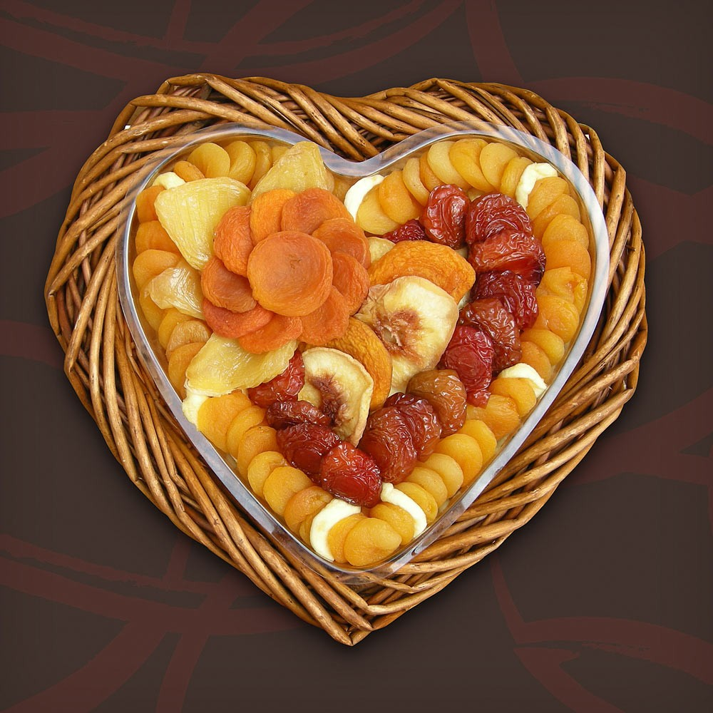 Love Preserved Dried Fruit, Valentines Day Business Gifts