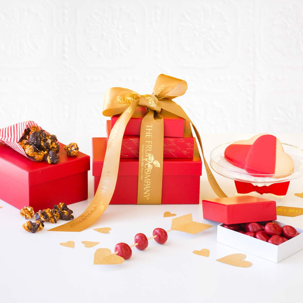Sweetheart-Valentines-Day-Gift-Tower, Valentines Day Business Gifts