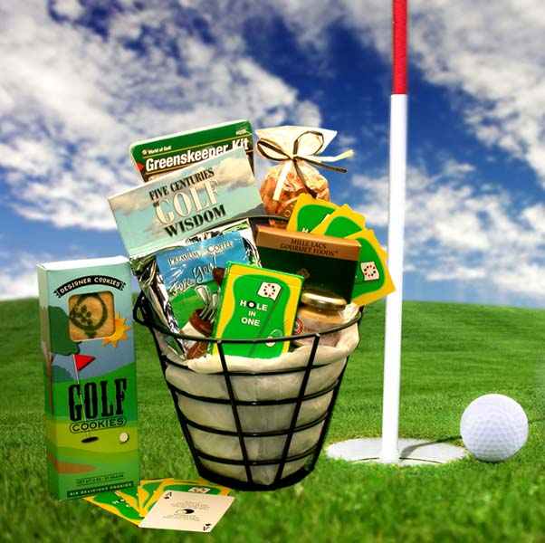 The Golf Caddy Gift Basket, Golf Gifts