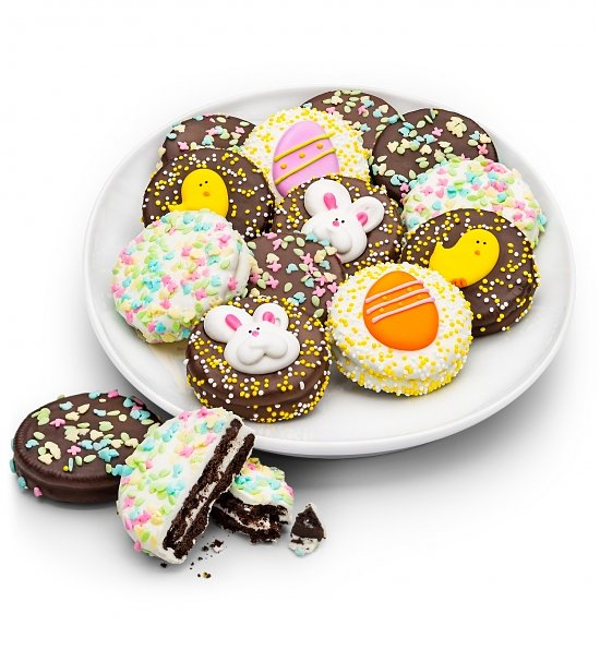 Happy Easter Chocolate Enrobed Oreos, Top 5 Business Easter Gifts