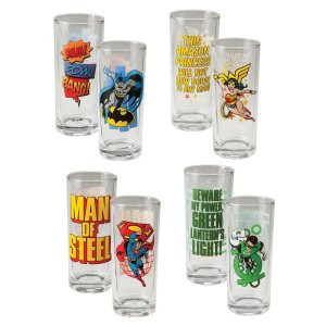 Comics-Glass-Set