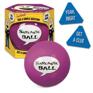 Sarcastic Ball Magic Gag Gift
