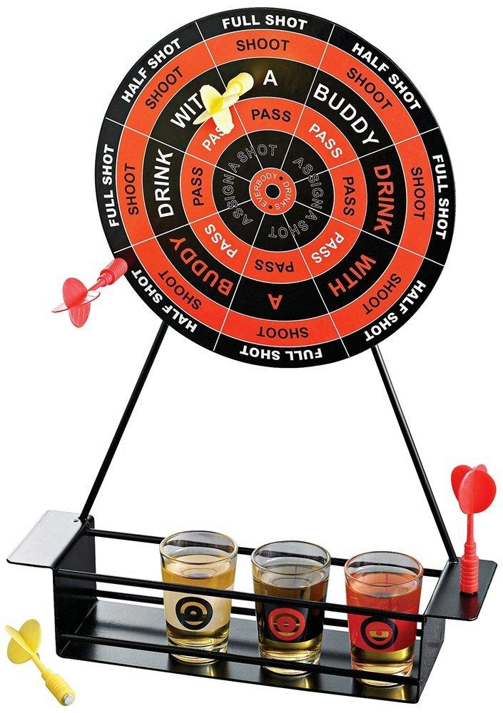Shot Glass Darts Bar Game Set