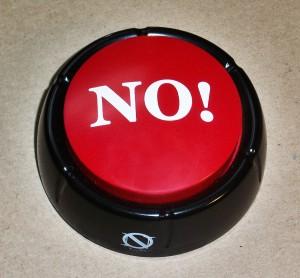 The No Button