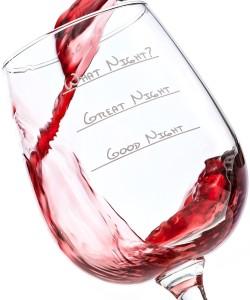 What Night! Wine Glass
