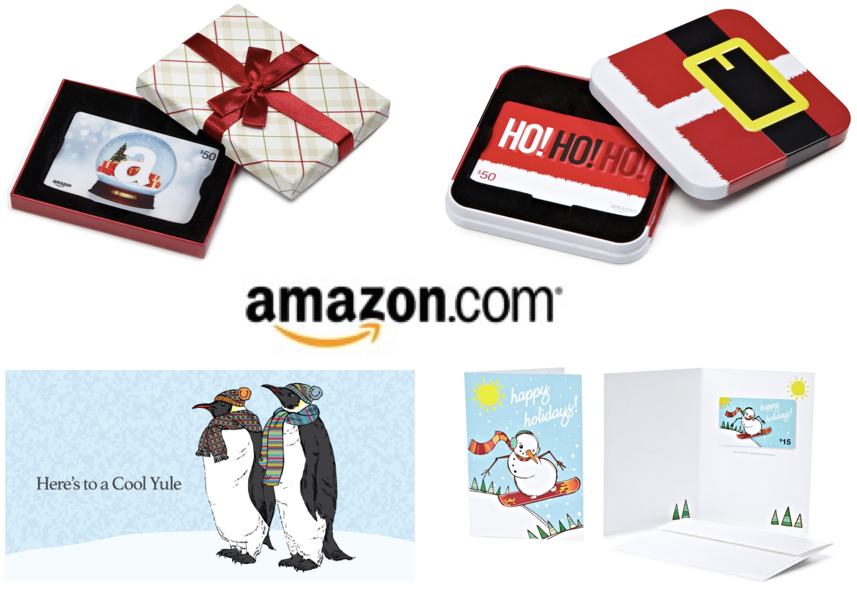 Amazon Gift Cards Company Holiday Gifts