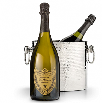Luxury Wine Chiller with Dom Perignon 2004, Best Luxury Company Holiday Gifts