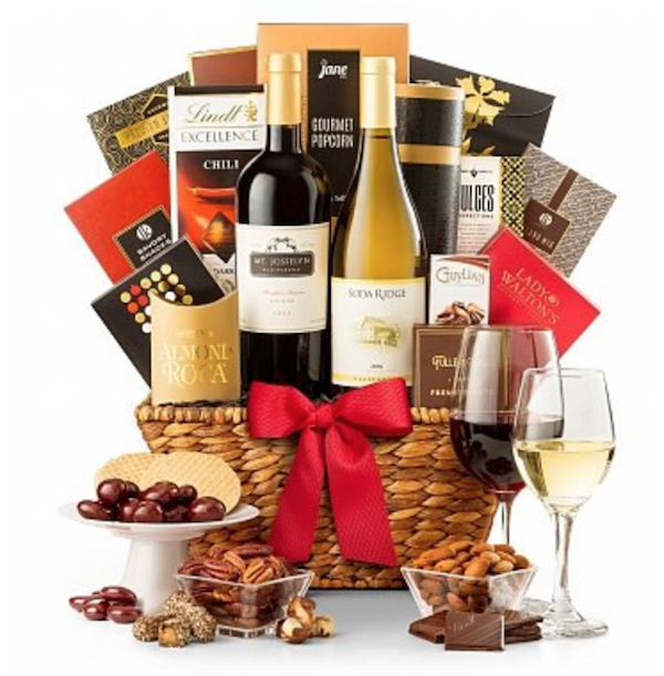California Wine Basket Company Holiday Gift