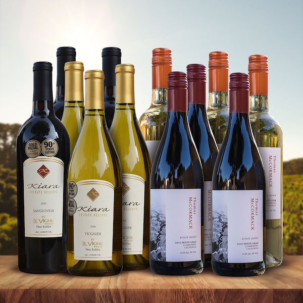 California Wine Club Holiday Company Gift